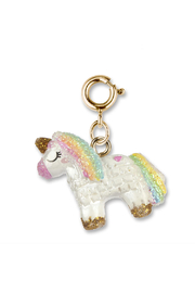 Charm It Gold Unicorn Pinata - Product Mini Image