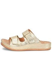 Kork Ease Gold Velcro Sandal - Product Mini Image