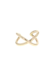 Lotus Jewelry Studio Gold Vexed Ring - Front cropped