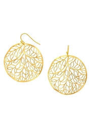 Wild Lilies Jewelry  Gold Vine Earrings - Product Mini Image