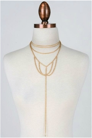 Minx Gold Web Necklace - Product Mini Image