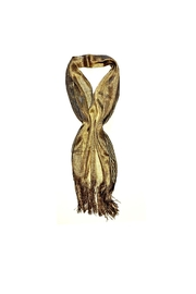 Love's Hangover Creations Gold Wedding Scarf - Product Mini Image