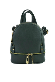 Ah!dorned Gold Zip Backpack - Product Mini Image