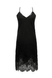 Gold Hawk Lace Velvet Dress - Product Mini Image