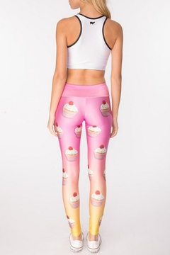 Gold Sheep Cupcake Long Legging - Alternate List Image