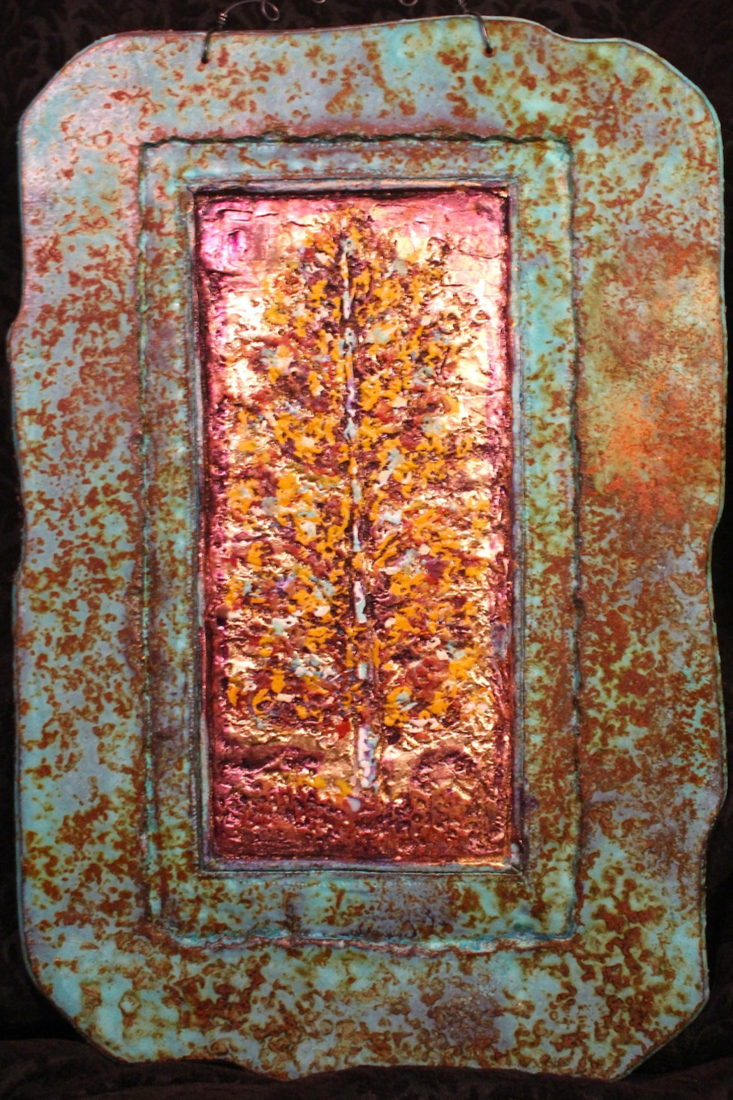 Jeanne Dana Paper and Stone Golden Aspen - Main Image