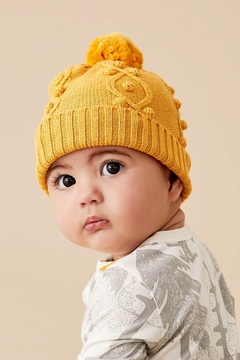 Shoptiques Product: Golden Bauble Knitted Hat