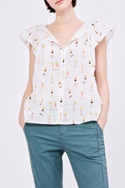 Acoté Golden Beach Blouse - Product Mini Image