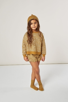 Shoptiques Product: Golden Berry Boxy Pullover