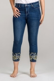 GG Jeans Golden Bloom Capri - Product Mini Image