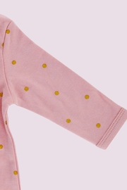 T & Tim Golden Bouncy Bunny Romper in Pink - Other