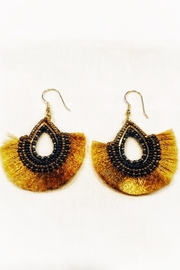 WorldFinds Golden Fan Earring - Product Mini Image