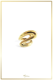 Malia Jewelry Golden Flow Ring - Product Mini Image