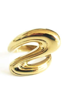 Malia Jewelry Golden Flow Ring - Product List Image