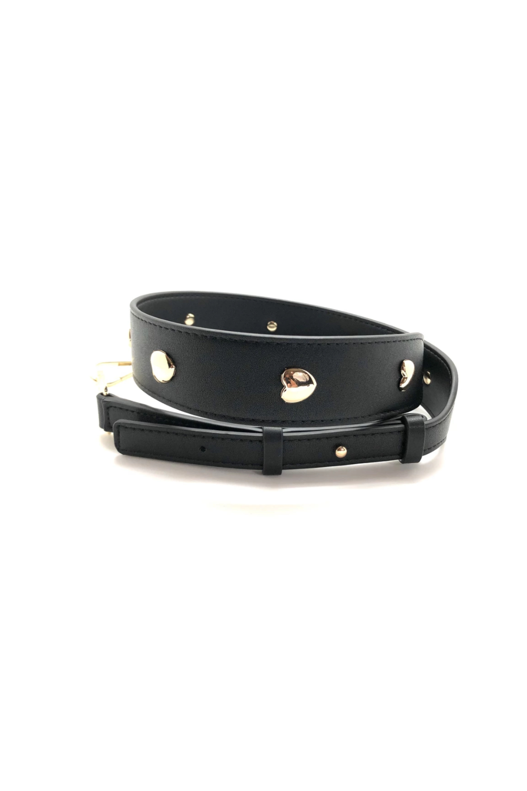 private label; Golden Heart Strap Black - Main Image