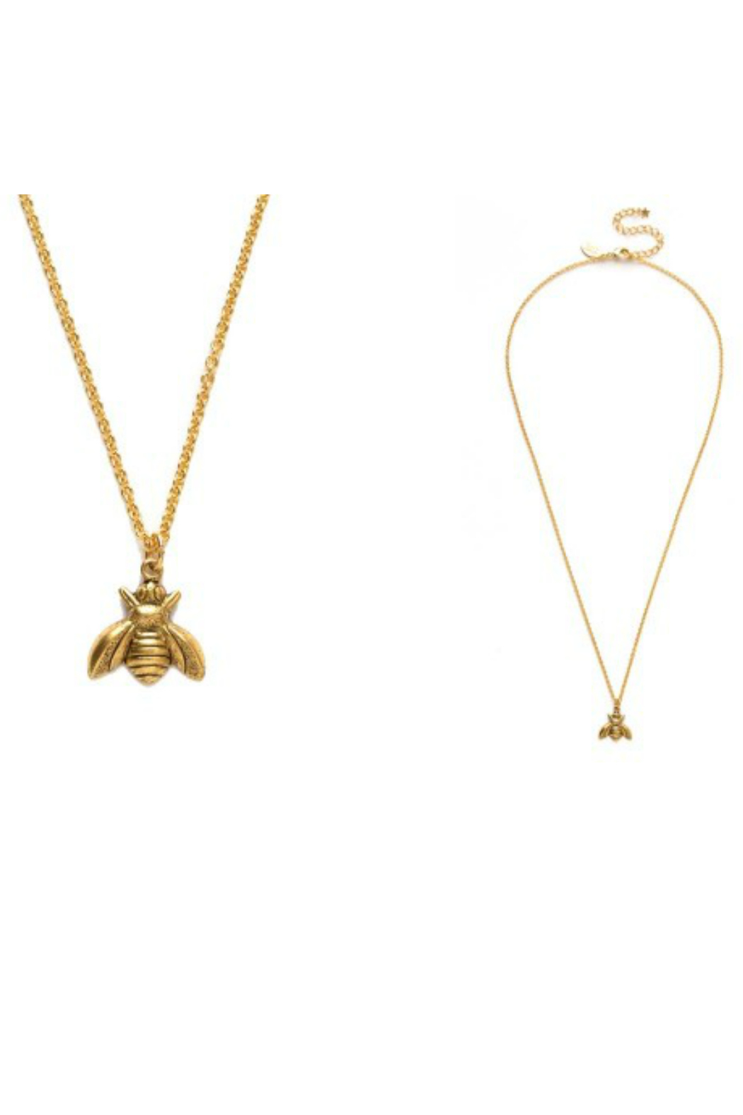 Amano Trading GOLDEN HONEY BEE NECKLACE - Main Image
