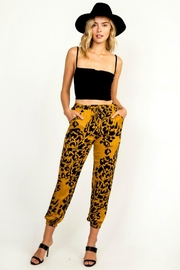 Olivaceous Golden Leopard Jogger - Product Mini Image
