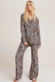 Bella Dahl  Golden Leopard PJ Set - Product Mini Image