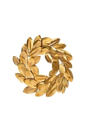 Indaba Golden Magnolia Wreath - Product Mini Image