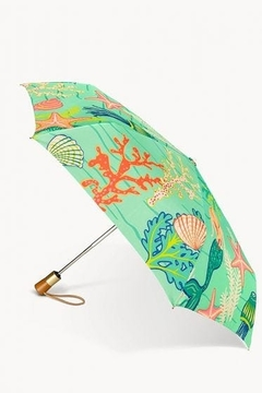 Shoptiques Product: Golden Mermaid Umbrella