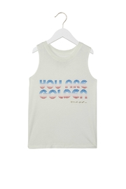 SPIRITUAL GANGSTER Golden Muscle Tank - Product Mini Image