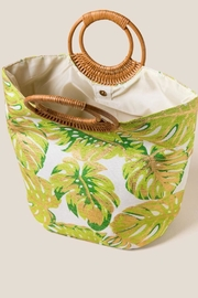 Shiraleah Golden Palms Tote - Side cropped