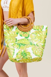 Shiraleah Golden Palms Tote - Back cropped