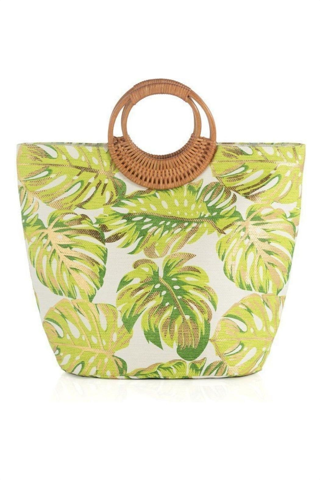 Shiraleah Golden Palms Tote - Main Image