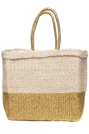Femme Boutique Boston  Golden Reflections Tote - Front full body