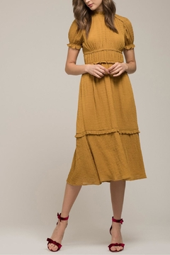 Moon River Golden Rod Dress - Product List Image
