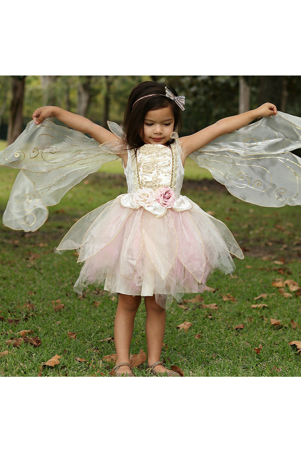 Great Pretenders  Golden Rose Fairy Dress - Side Cropped Image
