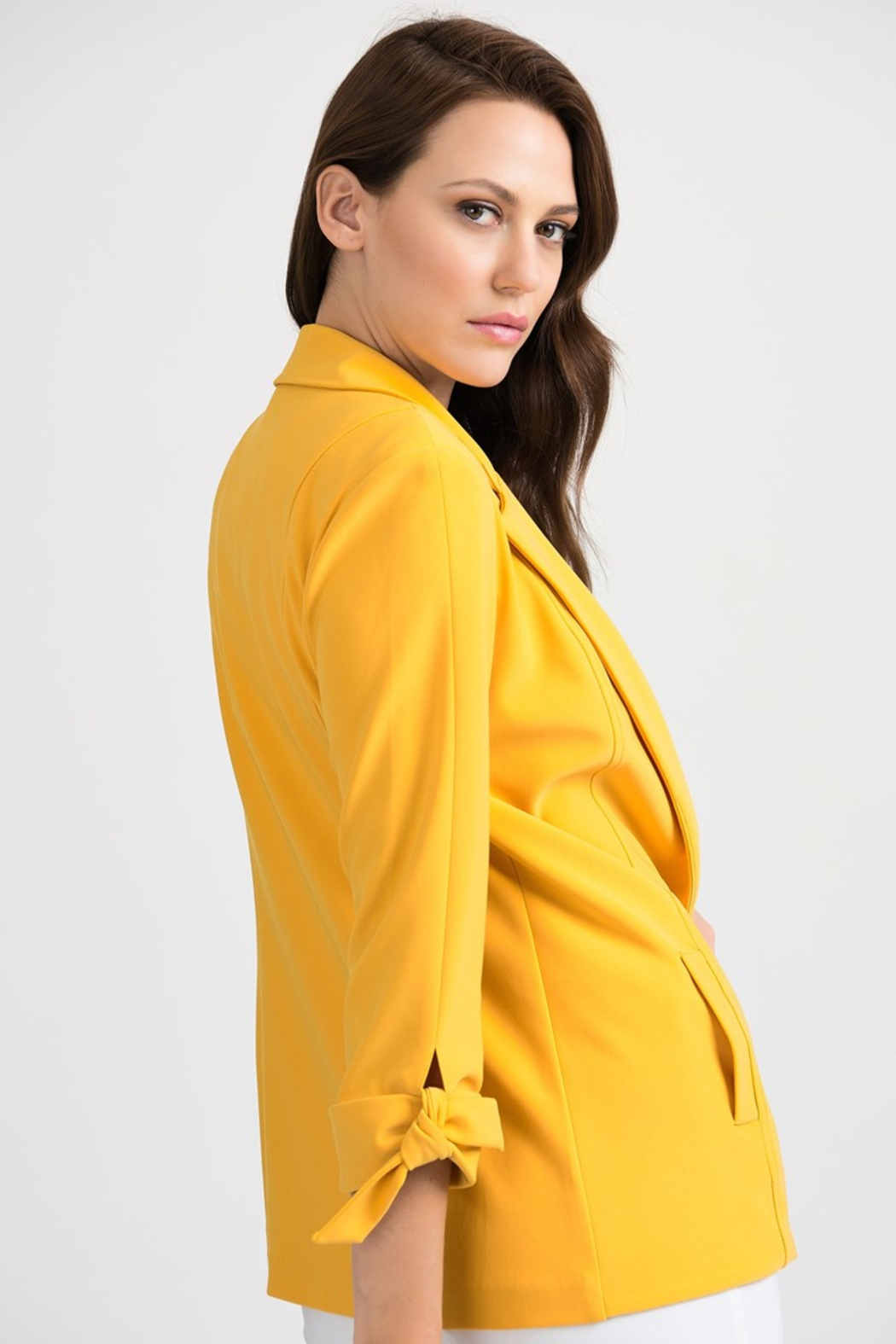 Joseph Ribkoff  Golden Sun Blazer - Side Cropped Image