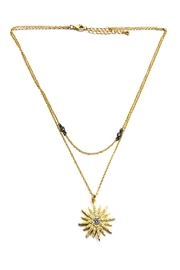 BeJe Golden Sunburst Necklace - Product Mini Image