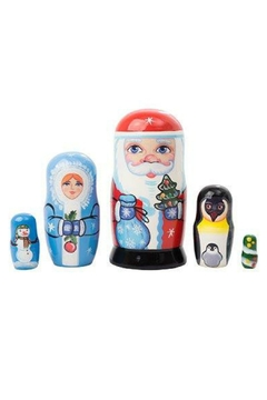 Shoptiques Product: Christmas Nesting Doll