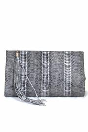 Golden Stella  Grey Reptile Clutch - Product Mini Image