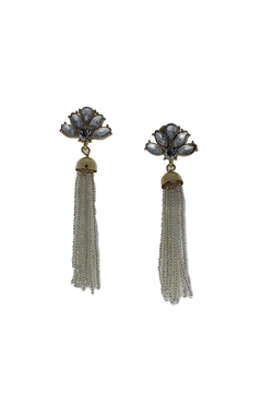 Golden Stella  Candance Tassel Earrings - Alternate List Image