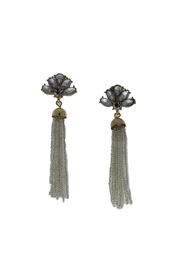 Golden Stella  Candance Tassel Earrings - Product Mini Image