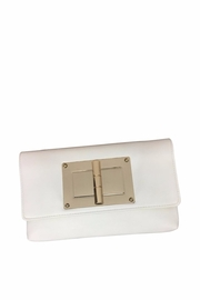 Golden Stella  White Clutch - Product Mini Image