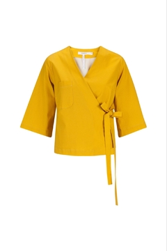 RHUMAA Goldenyellow Kimonoblouse - Alternate List Image