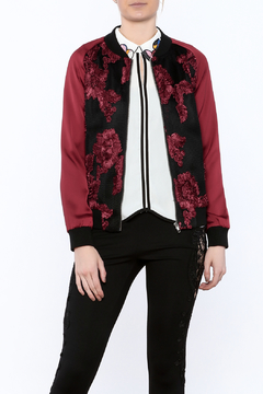 Goldie Embroidered Bomber Jacket - Product List Image