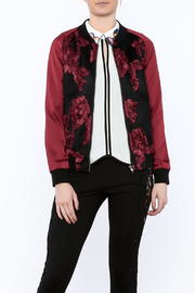 Goldie Embroidered Bomber Jacket - Product Mini Image