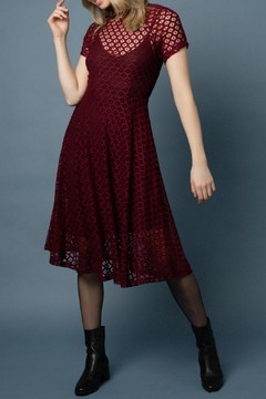 Shoptiques Product: Flaired Holiday Dress