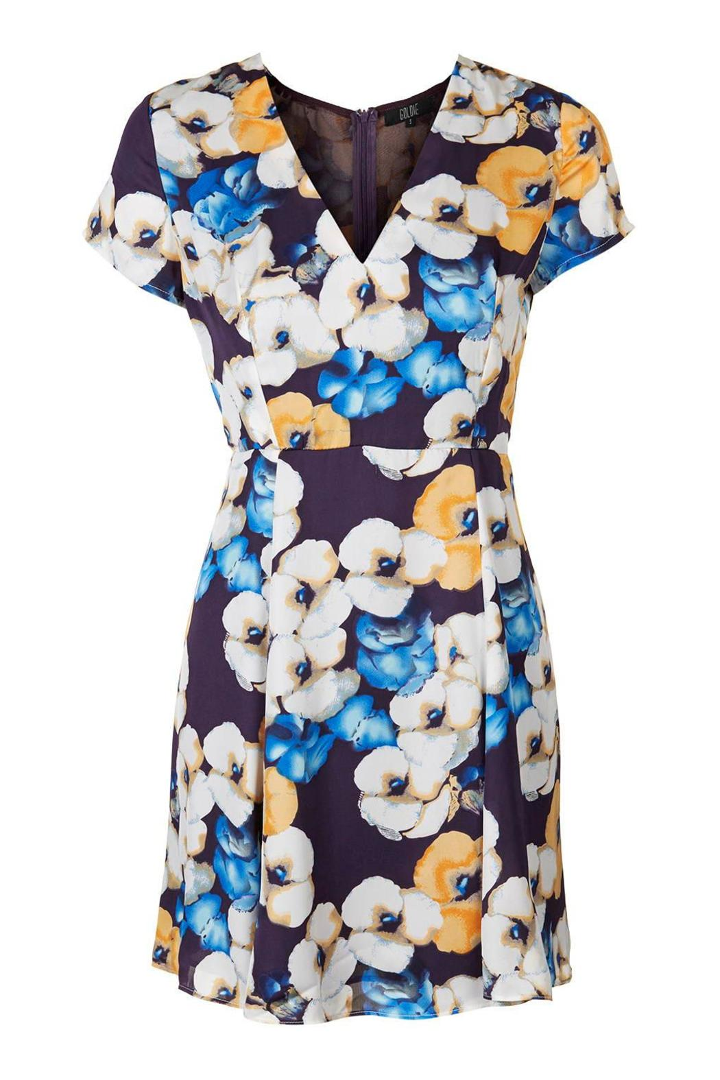 Goldie Floral Tea Dress - Main Image