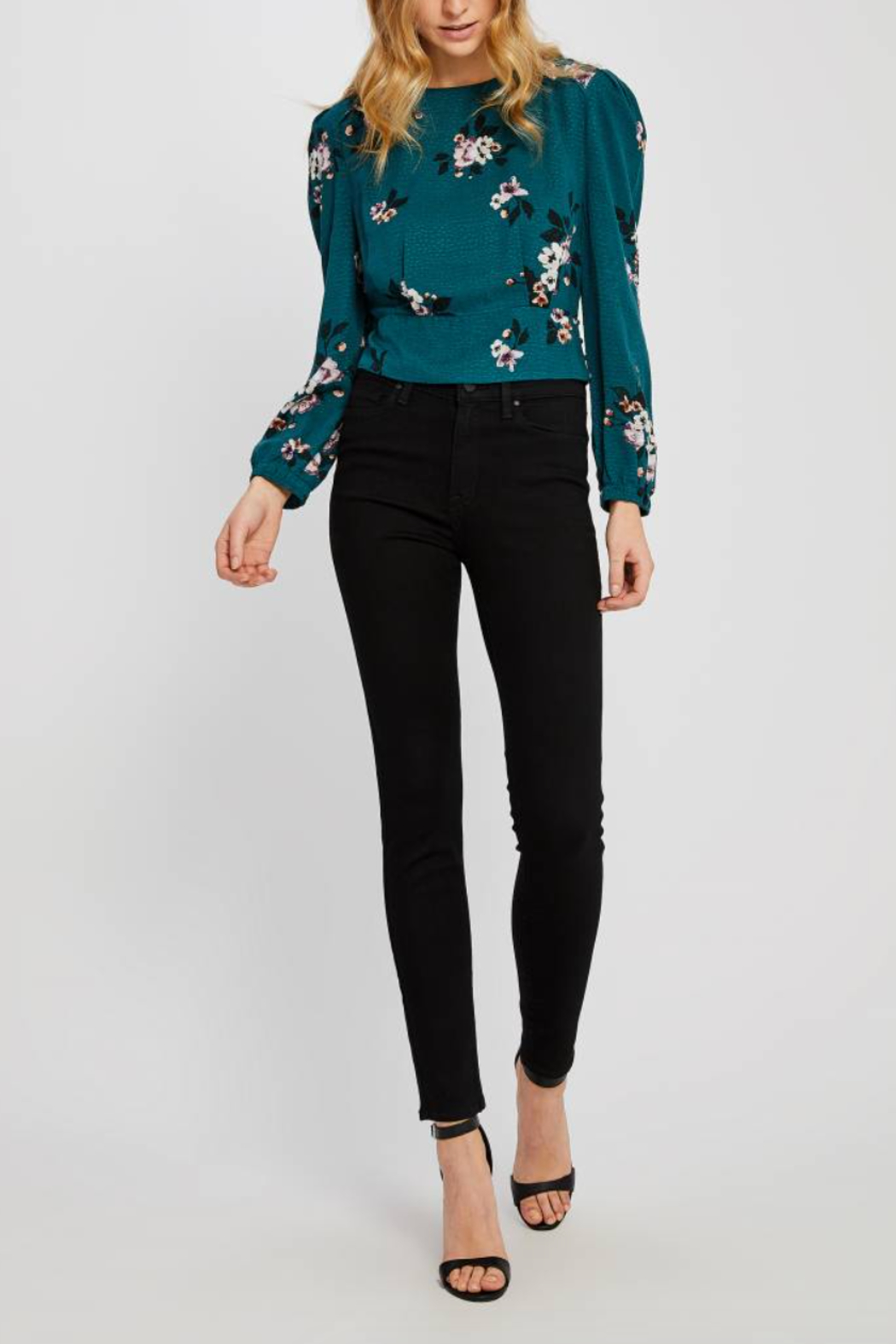 Gentle Fawn Goldie Floral Top - Front Cropped Image