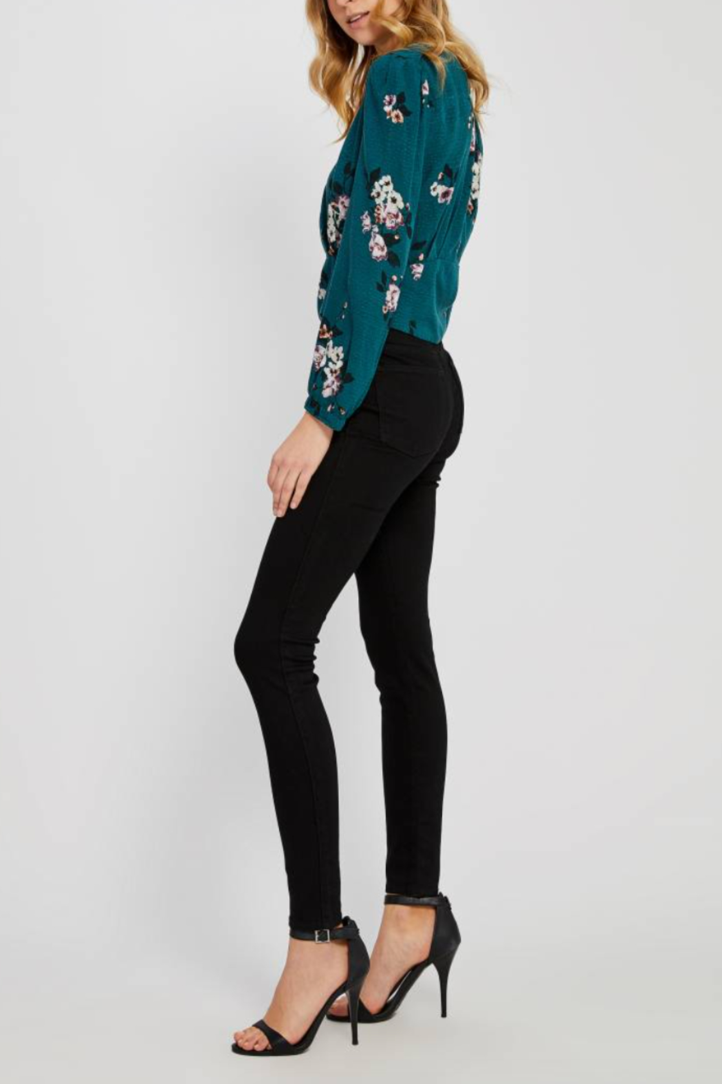 Gentle Fawn Goldie Floral Top - Side Cropped Image