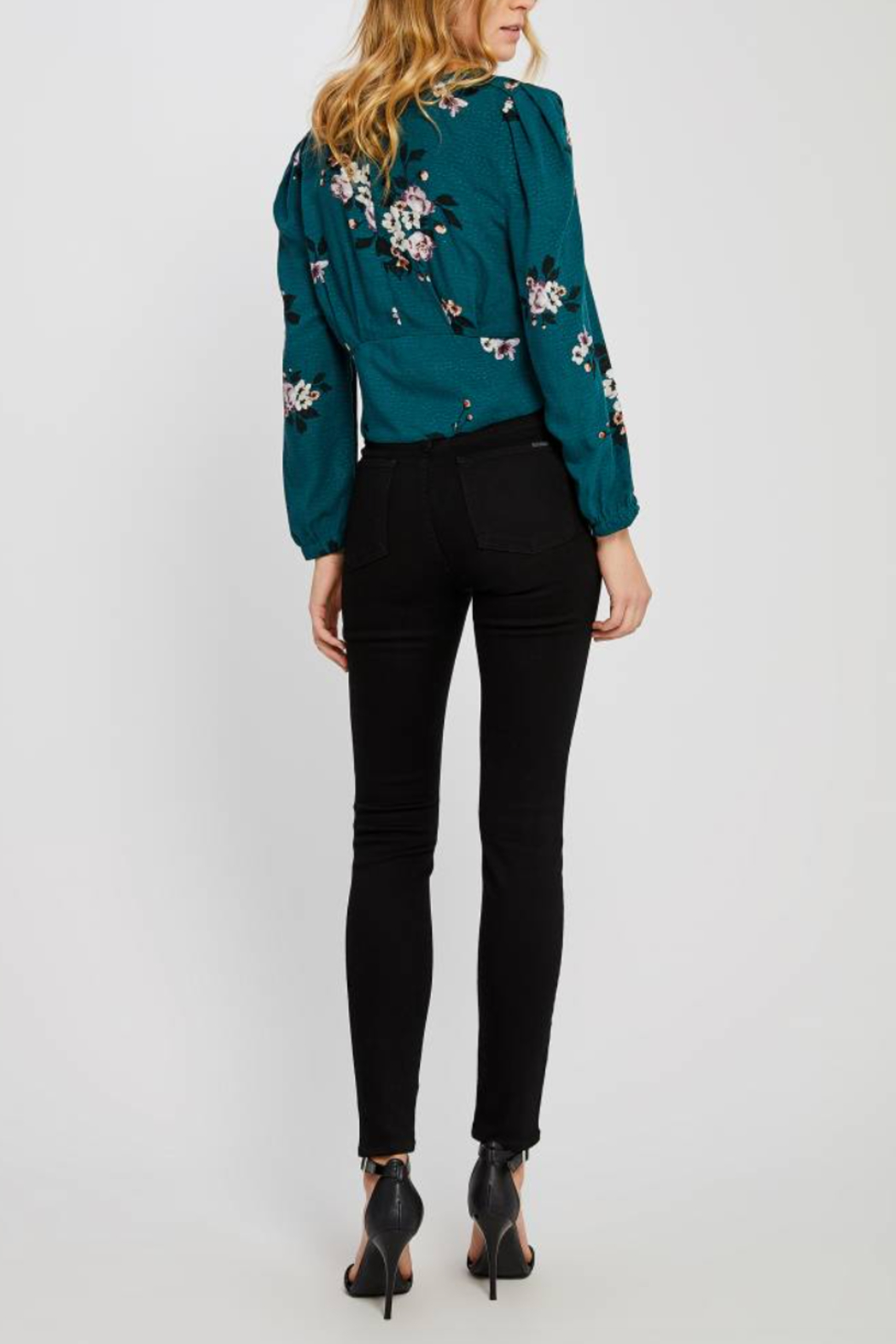 Gentle Fawn Goldie Floral Top - Front Full Image