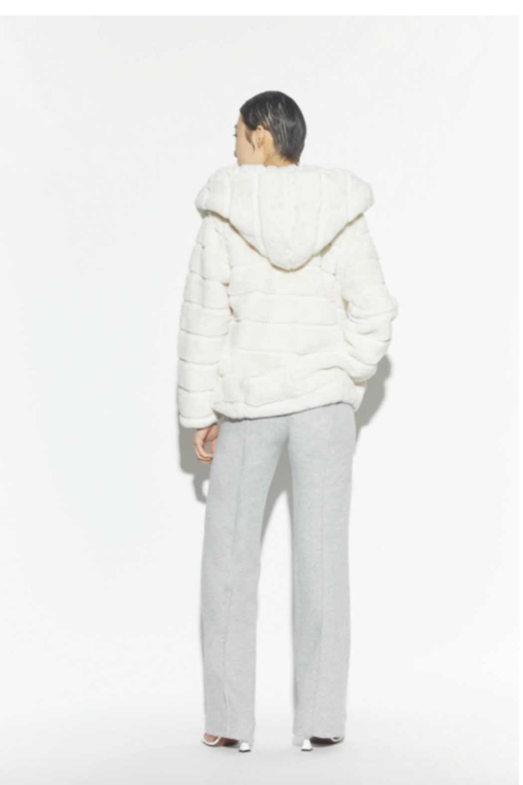 Apparis Goldie Hooded Jacket - Front Full Image