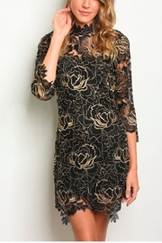 luxxel Goldie Lace Dress - Product Mini Image