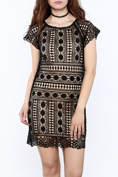 Goldie Black Lace Dress - Product List Image