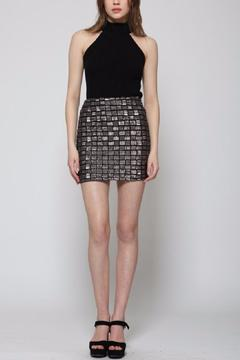Goldie Gun Metal Skirt - Product List Image